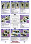 Originele USA DYNABAND ™ oefeningen folder / poster met vele goede oefeningen