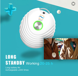 Airganix BodyCloud+ | Ionisatie 1m2 | WIT | Schone lucht inademen. Gezuiverde lucht rond je hoofd._