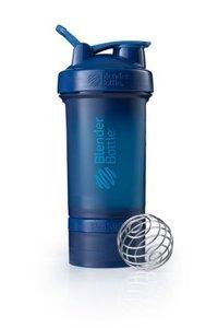 BlenderBottle ™ PROSTAK Navyblauw FC - Eiwitshaker / Bidon  - 650 ml