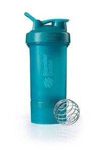 BlenderBottle ™ PROSTAK Azuurblauw/Teal FC - Eiwitshaker / Bidon  - 650 ml