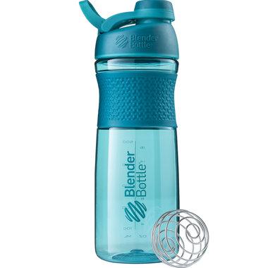 BLENDERBOTTLE | Sportmixer| Twistcap| ZEE BLAUW| 820 ML | Eiwitshaker | Bidon MET DRAAIDOP.