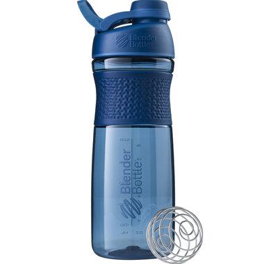BLENDERBOTTLE | Sportmixer| Twistcap| MARINE BLAUW| 820 ML | Eiwitshaker | Bidon MET DRAAIDOP.