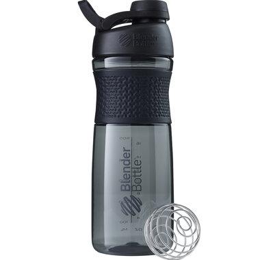 BLENDERBOTTLE | Sportmixer| Twistcap| ZWART| 820 ML | Eiwitshaker | Bidon MET DRAAIDOP.