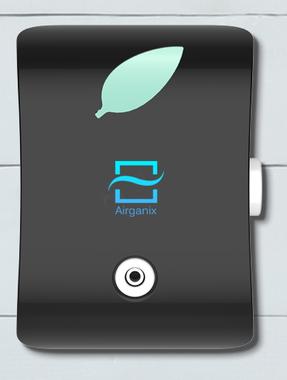 Airganix WallCloud Zwart. Luchtzuivering voor in je huis, op de camping of voor onderweg tot 50 m2.
