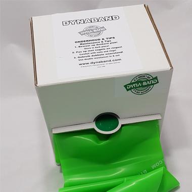 DynaBand™ 45 meter Medium Weerstand Groen - Rol -