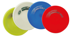 Schildkrot ™ Fun Sports - Aerobie - Jelly Squidgie Disc - Flexibele frisbee - Diameter 20cm