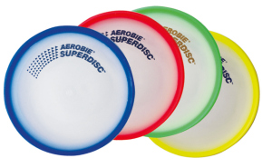 Schildkrot ™ Fun Sports - Aerobie -  Superdisc Frisbee (25 cm)