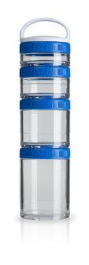 BlenderBottle ™ GOSTAK Blauw - Starter 4Pak opbergbakjes - 40ml/60ml/100ml/150ml