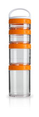 BlenderBottle ™ GOSTAK Oranje - Starter 4Pak opbergbakjes - 40ml/60ml/100ml/150ml
