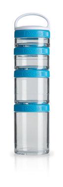 BlenderBottle ™ GOSTAK Aqua - Starter 4Pak opbergbakjes - 40ml/60ml/100ml/150ml