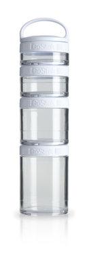 BlenderBottle ™ GOSTAK Wit - Starter 4Pak opbergbakjes - 40ml/60ml/100ml/150ml