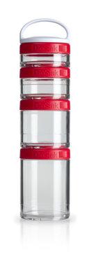 BlenderBottle ™ GOSTAK Rood - Starter 4Pak opbergbakjes - 40ml/60ml/100ml/150ml