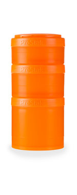 BlenderBottle ™ EXPANSION PAK Oranje - 3 Opbergbakjes voor Pro Stak - Full Colour - 100ml/150ml/250ml