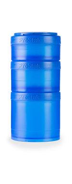 BlenderBottle ™ EXPANSION PAK Blauw - 3 Opbergbakjes voor Pro Stak - Full Colour - 100ml/150ml/250ml