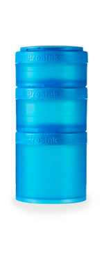 BlenderBottle ™ EXPANSION PAK Aqua - 3 Opbergbakjes voor Pro Stak - Full Colour - 100ml/150ml/250ml