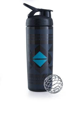 BlenderBottle ™ SIGNATURE SLEEK Zwart Diamond Native met oog - Eiwitshaker/Bidon - 820 ml