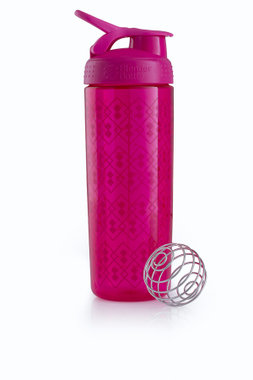 BlenderBottle ™ SIGNATURE SLEEK Roze Geo Lace met oog - Eiwitshaker/Bidon - 820 ml