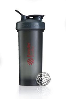 BlenderBottle ™ PRO45 Zwart met rode opdruk en oog - Eiwitshaker/Bidon - 1,3 Liter