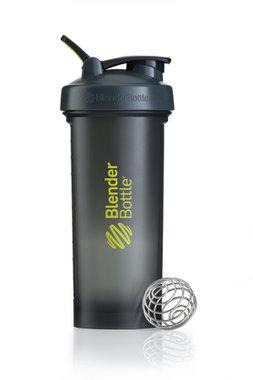 BlenderBottle ™ PRO45 Zwart met groene opdruk en oog - Eiwitshaker/Bidon - 1,3 Liter