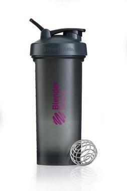 BlenderBottle ™ PRO45 Zwart met roze opdruk en oog - Eiwitshaker/Bidon - 1,3 Liter