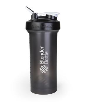 BlenderBottle ™ PRO45 Zwart met witte opdruk en oog - Eiwitshaker/Bidon - 1,3 Liter