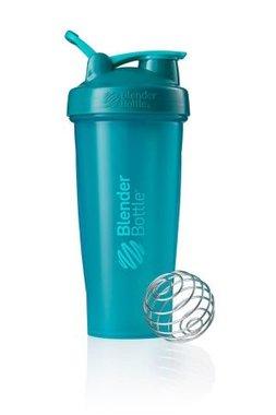 BlenderBottle ™ CLASSIC Big Azuurblauw/Teal FC met oog - Eiwitshaker / Bidon  - 820 ml