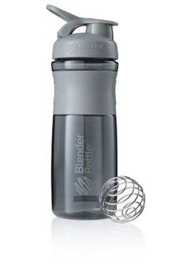 BlenderBottle ™ SPORTMIXER Big Grijs met oog - Eiwitshaker / Bidon  - 820 ml