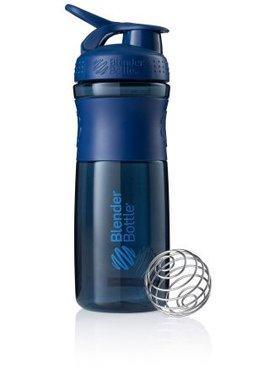 BlenderBottle ™ SPORTMIXER Big Navyblauw met oog - Eiwitshaker / Bidon  - 820 ml