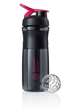 BlenderBottle ™ SPORTMIXER Big Zwart/Fashion Roze met oog - Eiwitshaker / Bidon  - 820 ml