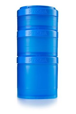 BlenderBottle ™ EXPANSION PAK Cyaan - 3 Opbergbakjes voor Pro Stak - Full Colour - 100ml/150ml/250ml