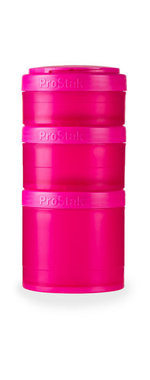 BlenderBottle ™ EXPANSION PAK Fashion Roze - 3 Opbergbakjes voor Pro Stak - Full Colour - 100ml/150ml/250ml
