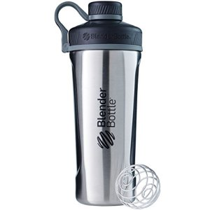 BlenderBottle ™ RADIAN RVS Chroom - Eiwitshaker/Bidon - 770 ml