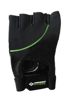 Schildkrot ™ Fitness - Fitnesshandschoenen Classic - Maat L/XL - Zwart/Groen