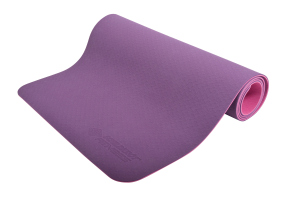 Schildkrot ™ Fitness  - Yogamat - Afmetingen 180 cm x 61 cm x 4 mm - TPE- Paars/Roze