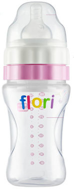 Flori Bottle ™  De Unieke Baby drinkfles