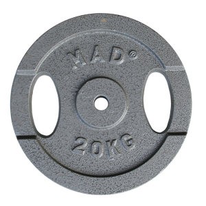 FitnessMAD ™ - 20 KG Plate, 25.4mm