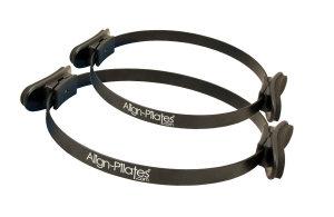FitnessMAD ™ -  Align Pilates Ring - Enkele Handgreep - Staal - Diameter 35 cm