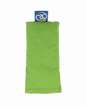 FitnessMAD ™ - Biologisch oogkussen om te relaxen in de kleur Limoen Groen