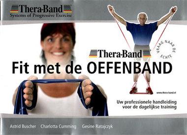 BOEK - Thera Band Oefeningen folder. Weerstandsoefeningen met TheraBand.