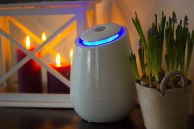 Airganix ™ Space Cloud ionisator tegen hooikoorts - Luchtreiniger / schone lucht in huis, kantoor, auto...