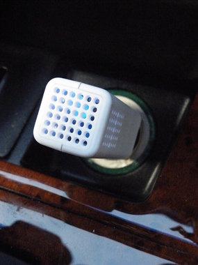 Airganix ™ Carcloud GRIJS. Schone lucht in de auto. Last van hooikoorts?