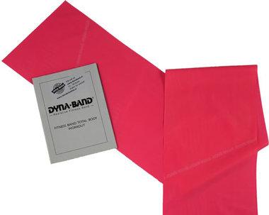 DYNABAND ™ 120 cm (4 ft) Lichte Weerstandsband Roze -