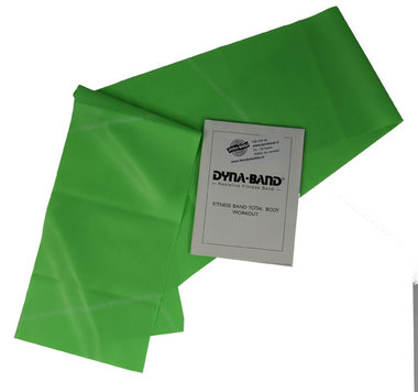 DYNABAND ™ 90 cm (3 ft) Medium Weerstandsband Groen -