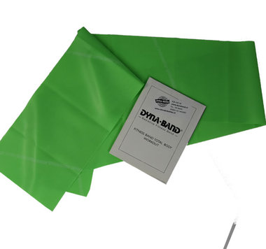 DYNABAND ™ 120 cm (4 ft) Medium Weerstandsband Groen -