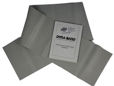 DYNABAND ™ 120 cm (4 ft) Zeer Zware Weerstandsband Zilver -