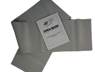 DYNABAND ™  90 cm (3 ft) Zeer Zware Weerstandsband Zilver -