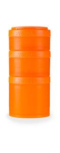 BlenderBottle ™ EXPANSION PAK Oranje - 3 Opbergbakjes voor Pro Stak - Full Colour - 100ml/150ml/250ml