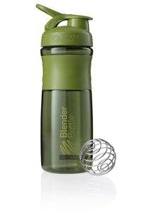 BlenderBottle ™ SPORTMIXER Big Mosgroen met oog - Eiwitshaker / Bidon  - 820 ml