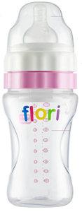 Flori Bottle ™  De Unieke Baby drinkfles